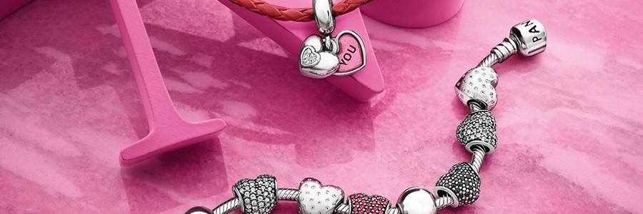 Collezione Pandora, fantastica idea regalo per San Valentino