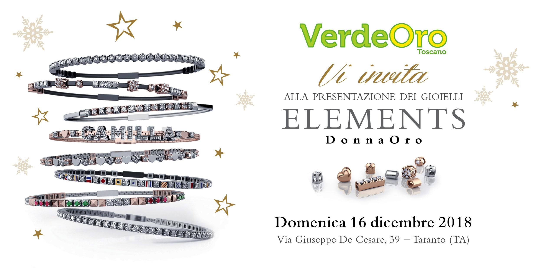 Giornata Elements DonnaOro 2018